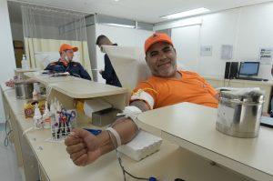 Agentes da Segurança Pública, Prefeitura e Saúde doam sangue no HSM